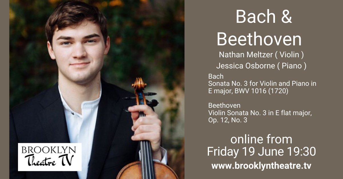 Bach and Beethoven Violin Sonatas Nathan Meltzer Thumbnail