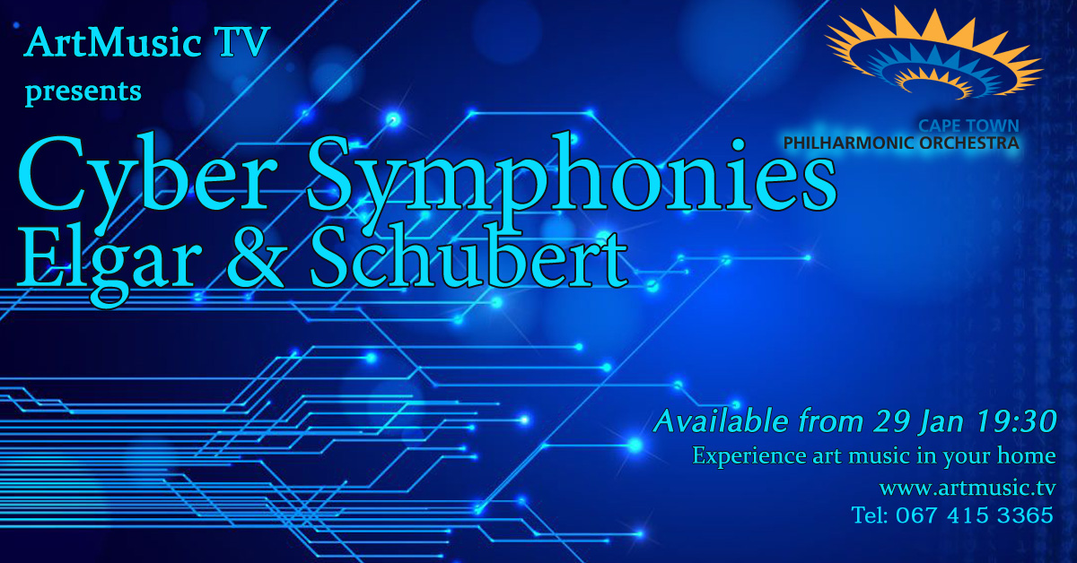 Cyber Symphonies. Elgar and Schubert Thumbnail