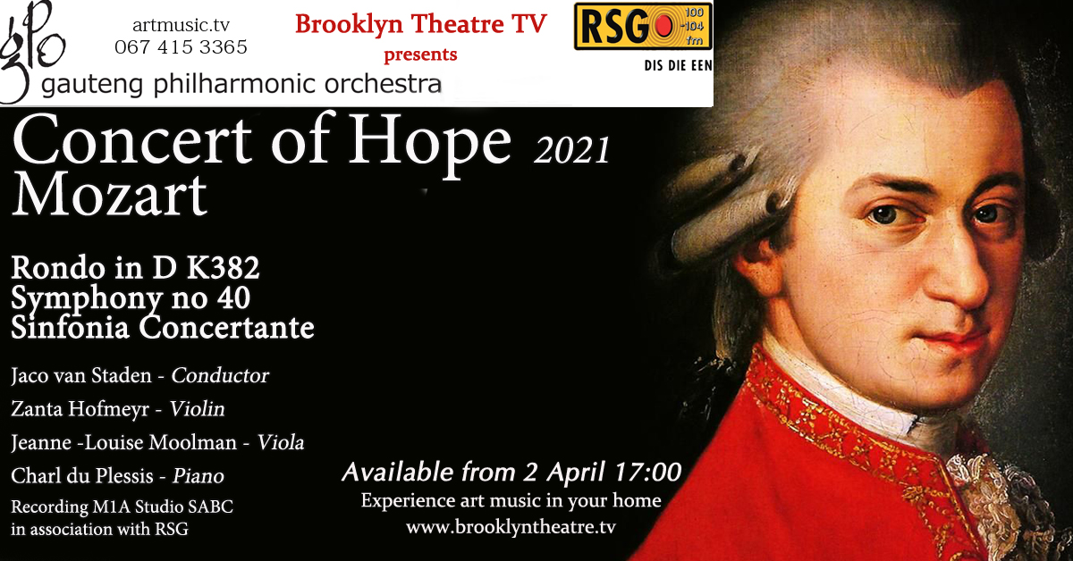 Gauteng Philharmonic Orchestra Concert of Hope Thumbnail