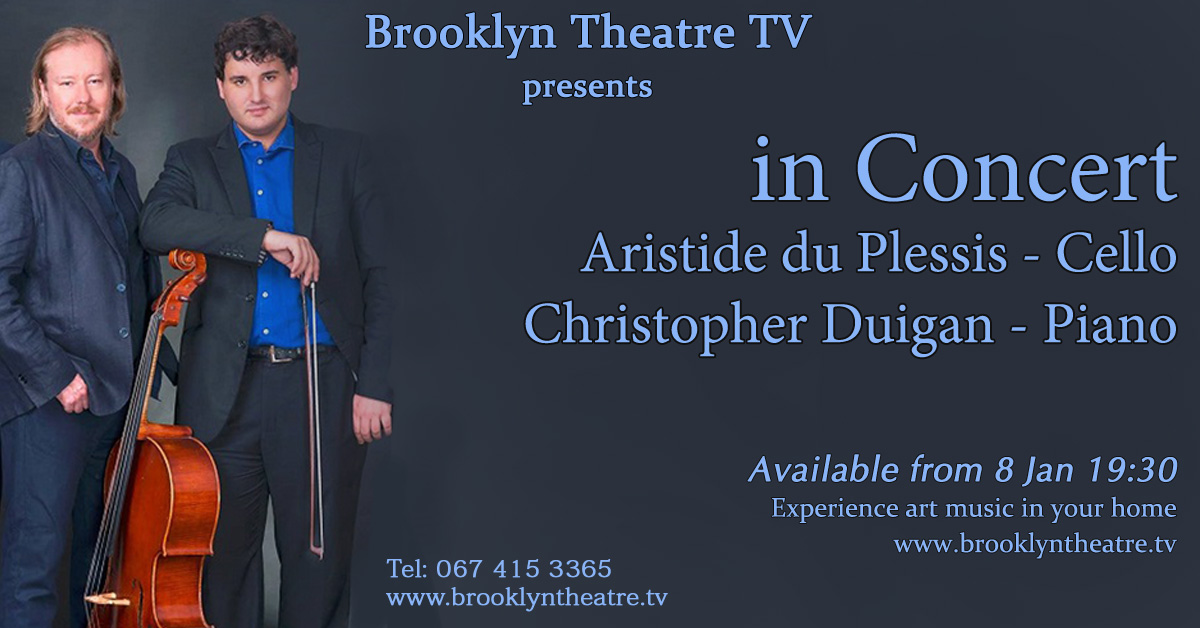 IN CONCERT with Aristide du Plessis (cello) & Christopher Du Thumbnail