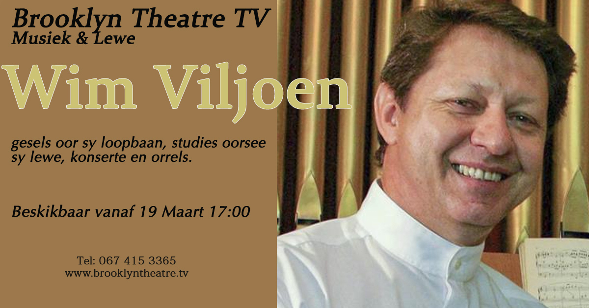 Wim Viljoen. Music and Life Thumbnail